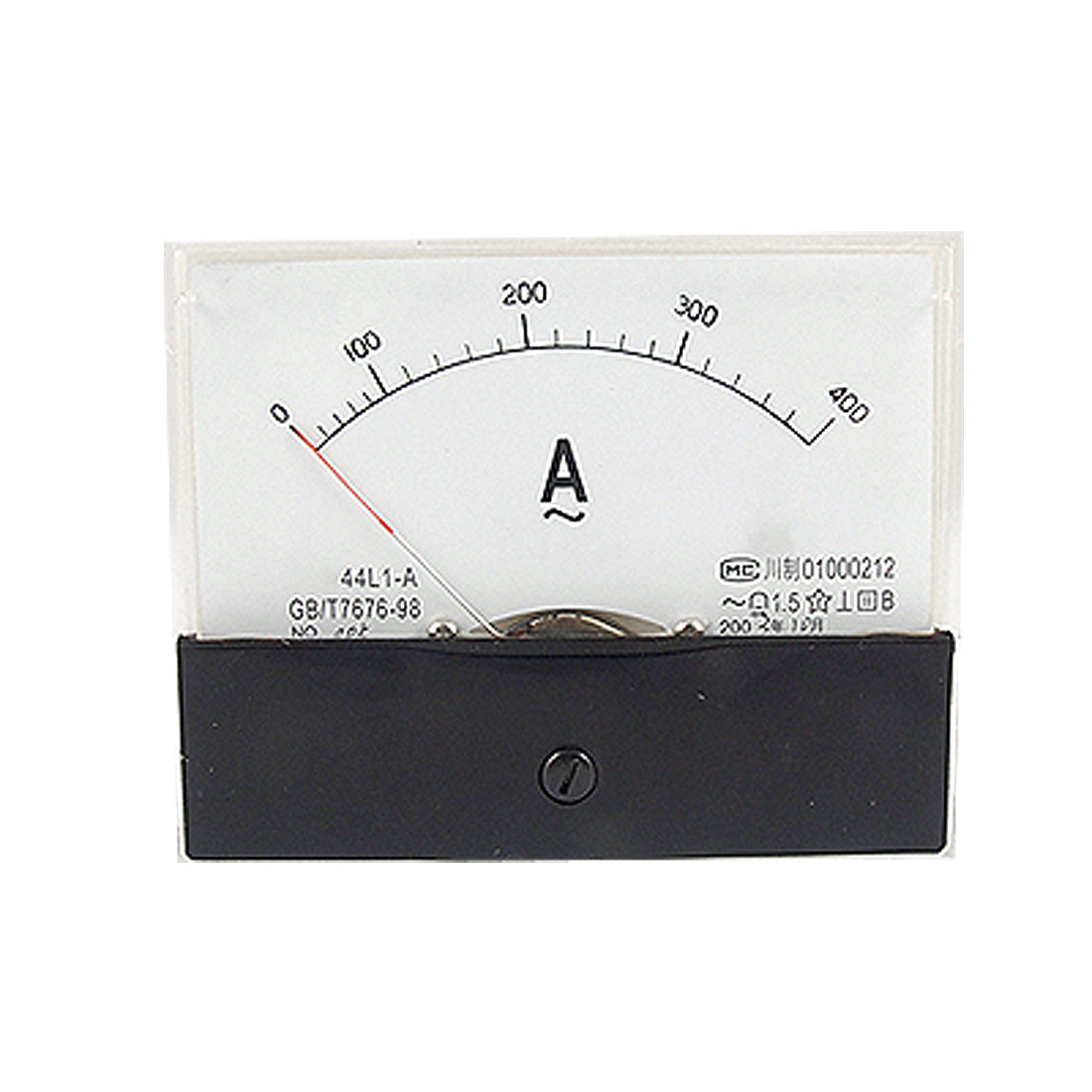 0-400A Analog AC Ammeter Current Panel Meter 44L1-A