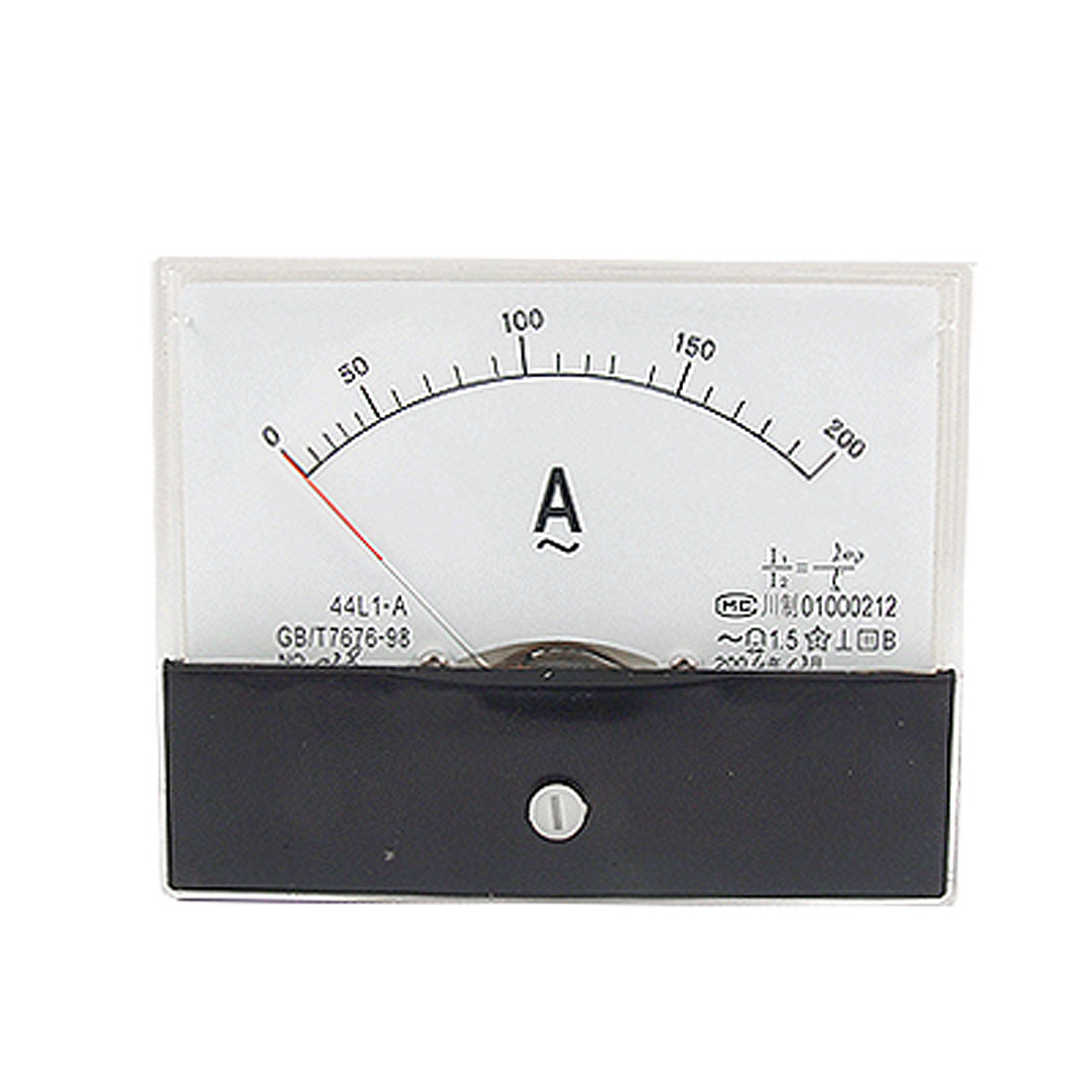 44L1-A Panel Mount 0-200A Analog AC Ammeter Current Meter