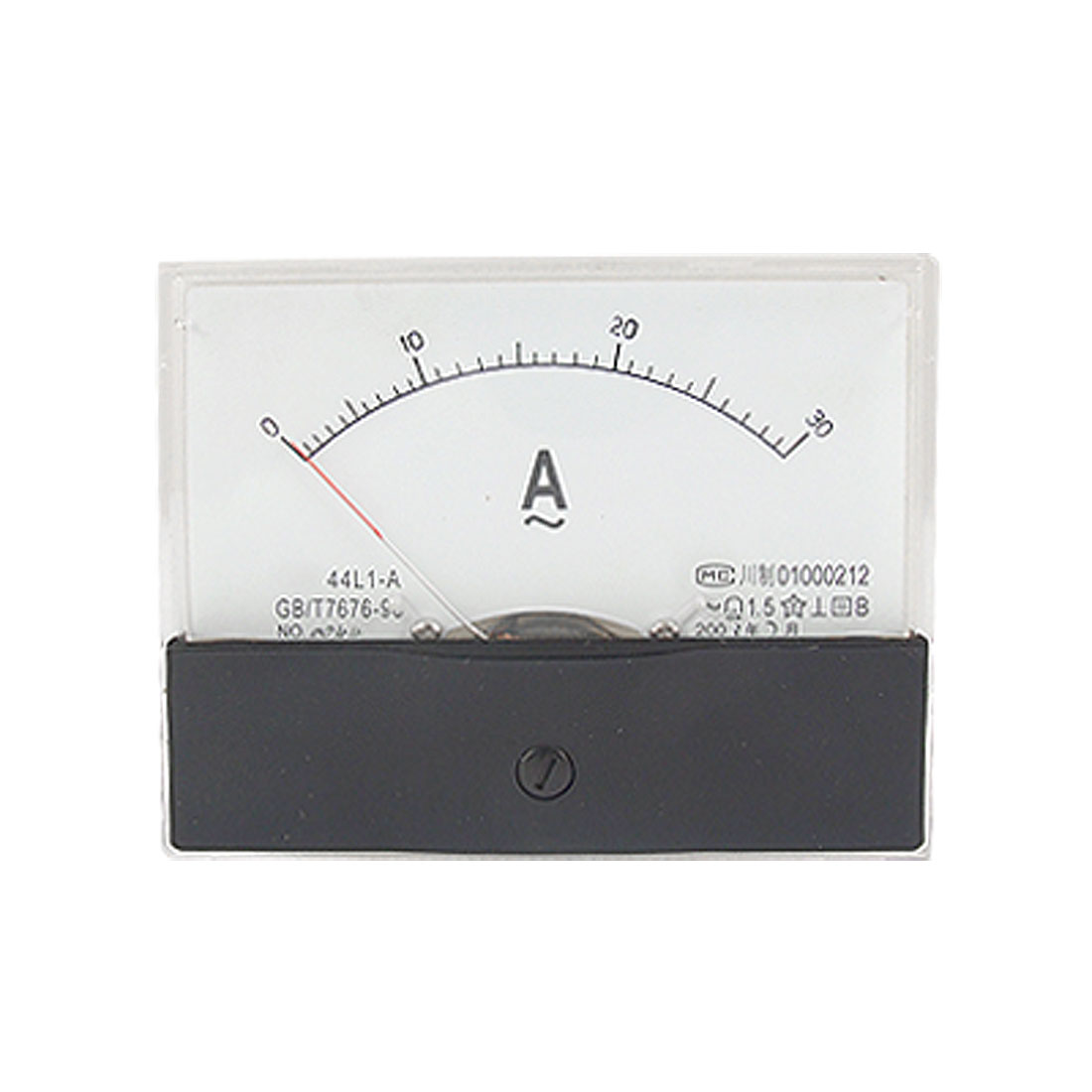 Panel Mount AC 0-30A Current Meter Measuring Tool 44L1-A
