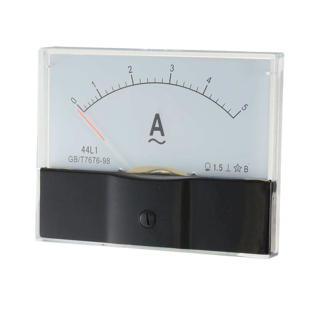 AC 5A Rectangle Panel Analogue Meter Ammeter 44L1-A