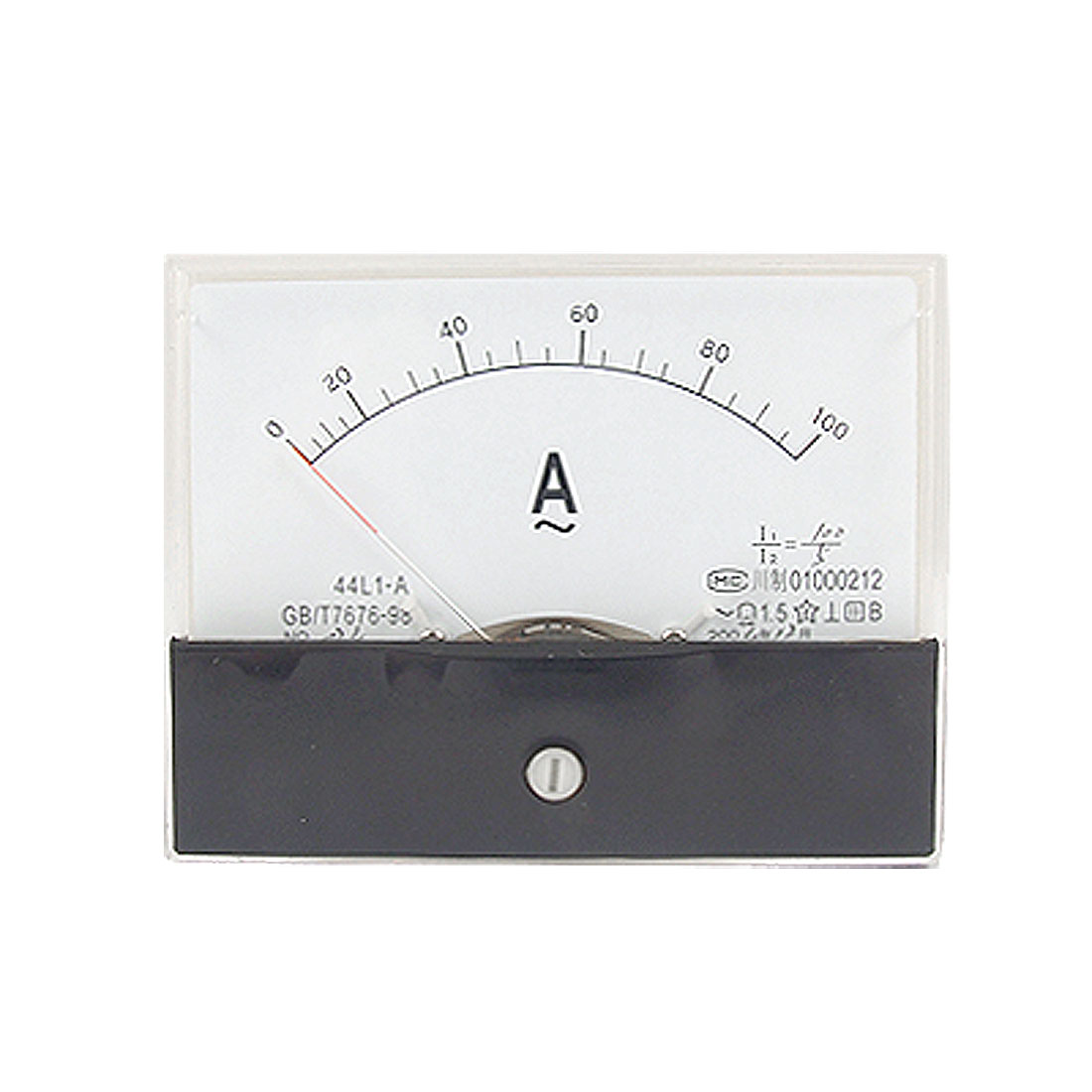 Panel Mount AC 0-100A Current Meter Measure Tool 44L1-A