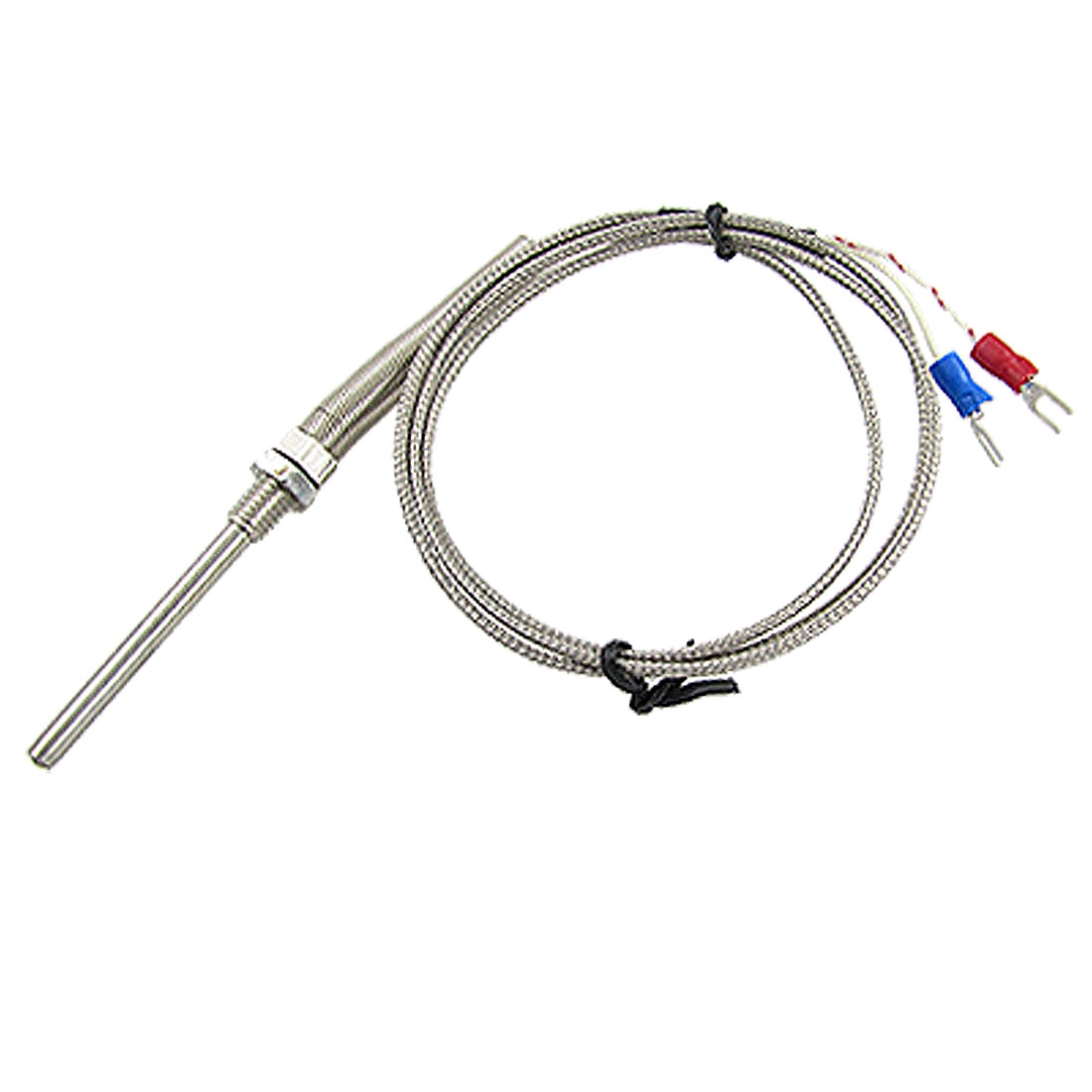 0-400 Degree Celsius K Type Thermocouple Sensor Probe 1M