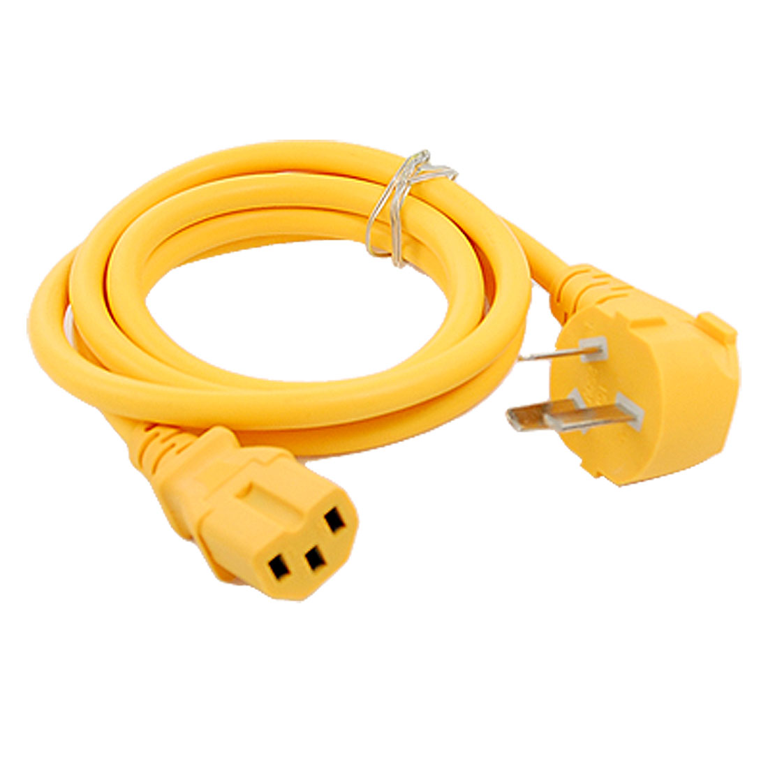 AU 3 Pin Plug AC 250V 16A Computer Electric Cooker Power Cable Yellow