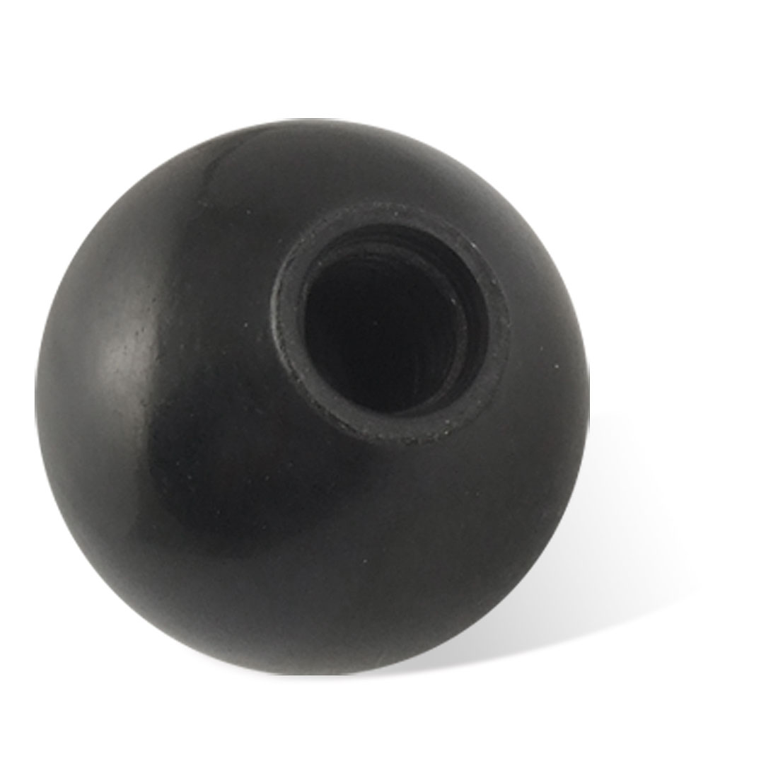 Replacement Black Plastic 35mm Diameter Ball Lever Knob