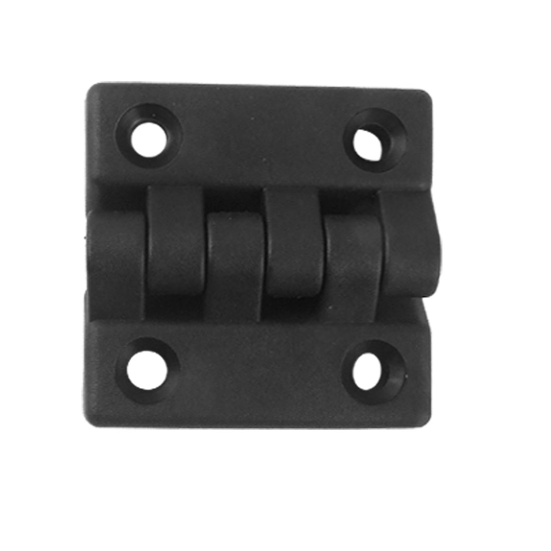 Reinforced Black Plastic Countersunk Hole Butt Hinge