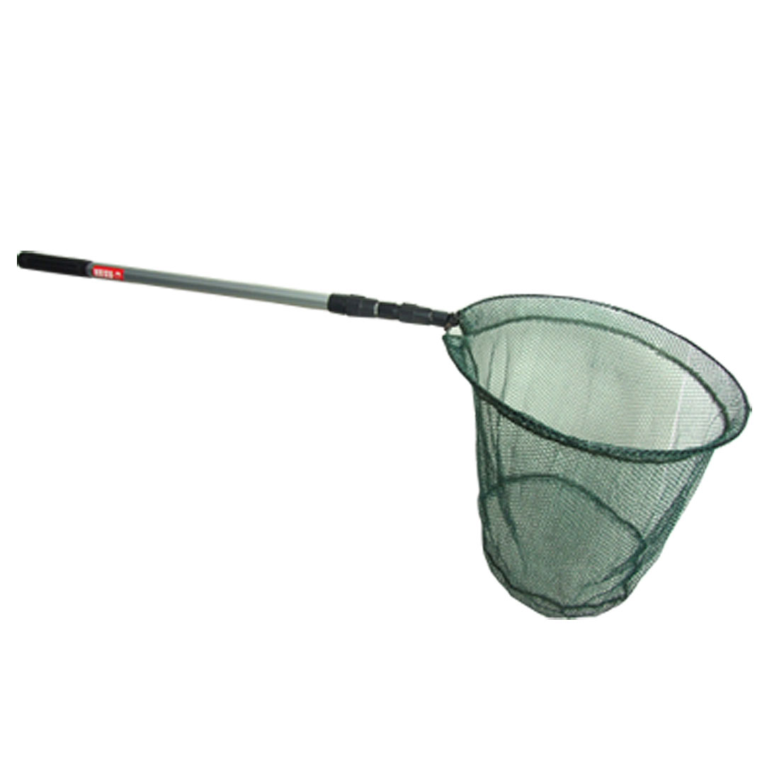 "Telescopic 3 Sections Handle 14.2"" Dia 4 Fold Landing Net"