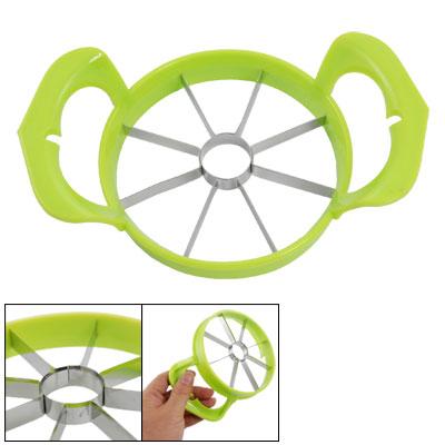 Stainless Steel Yellow Green Apple Cutter Corer