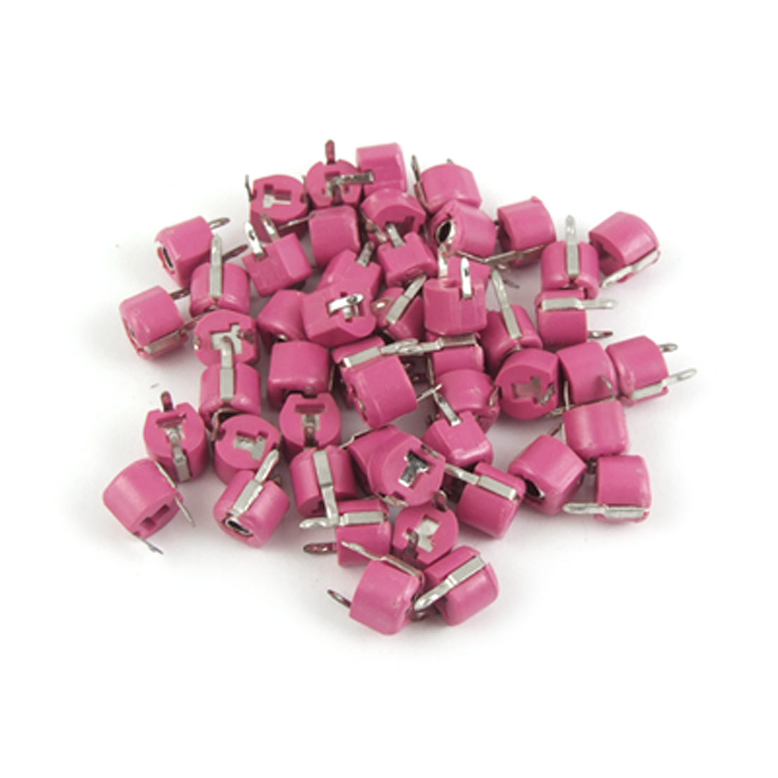 50pcs 6mm Plastic Variable Trimmer Capacitor 20pF