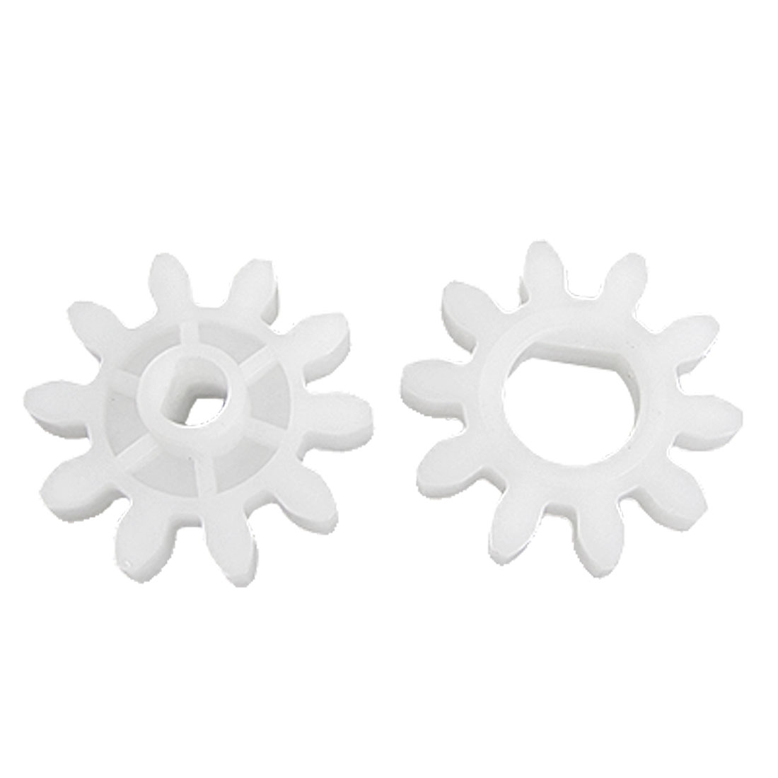 2 Pcs Printed Circuit Board Propene Polymer Spur Gears