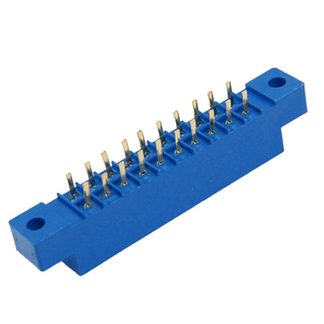 5 Pcs 805 Series 3.96mm Pitch 20P 10Px2 PCB Card Edge Connectors