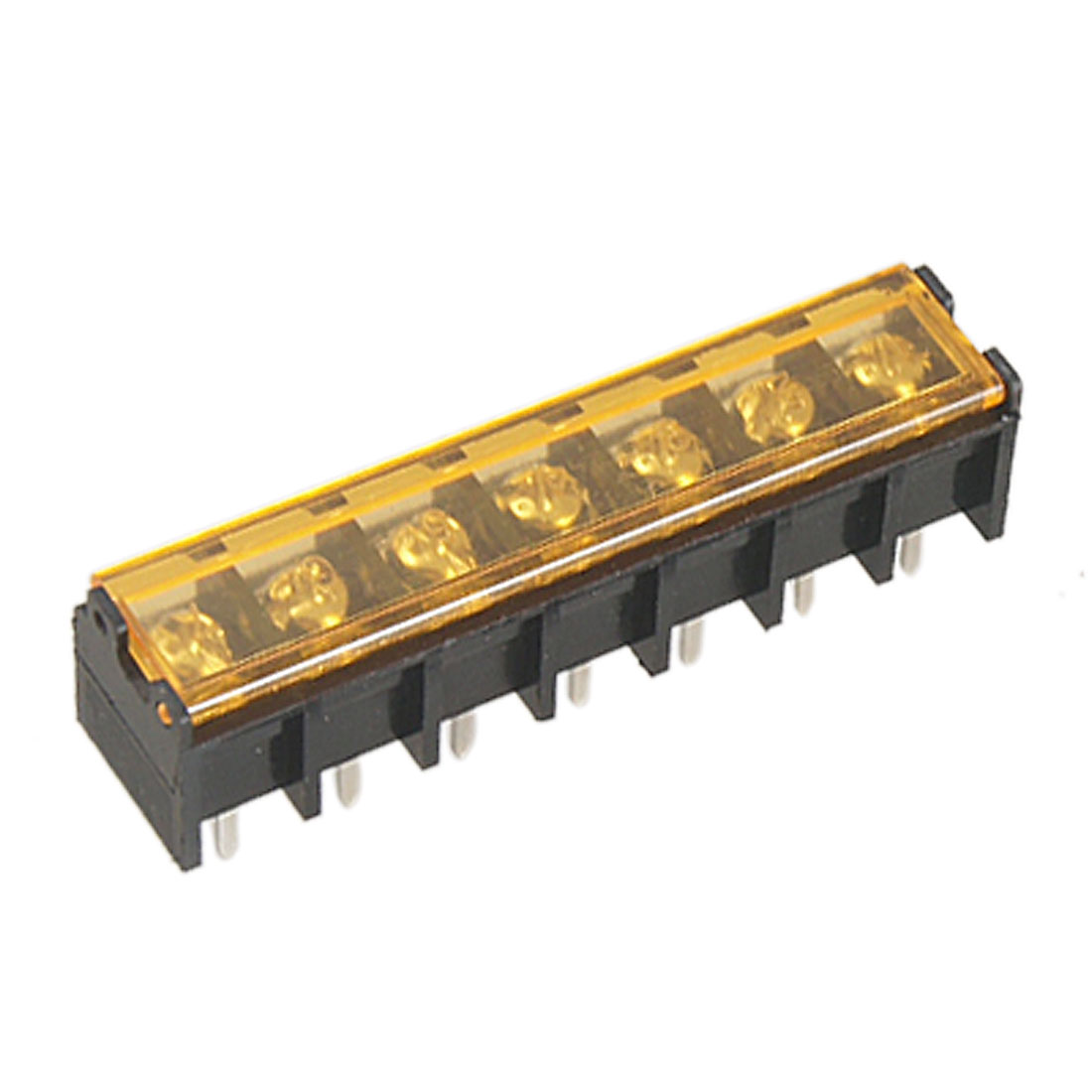 9.5mm Pitch 7 Pin 300V 30A Barrier Terminal Block 5 Pcs