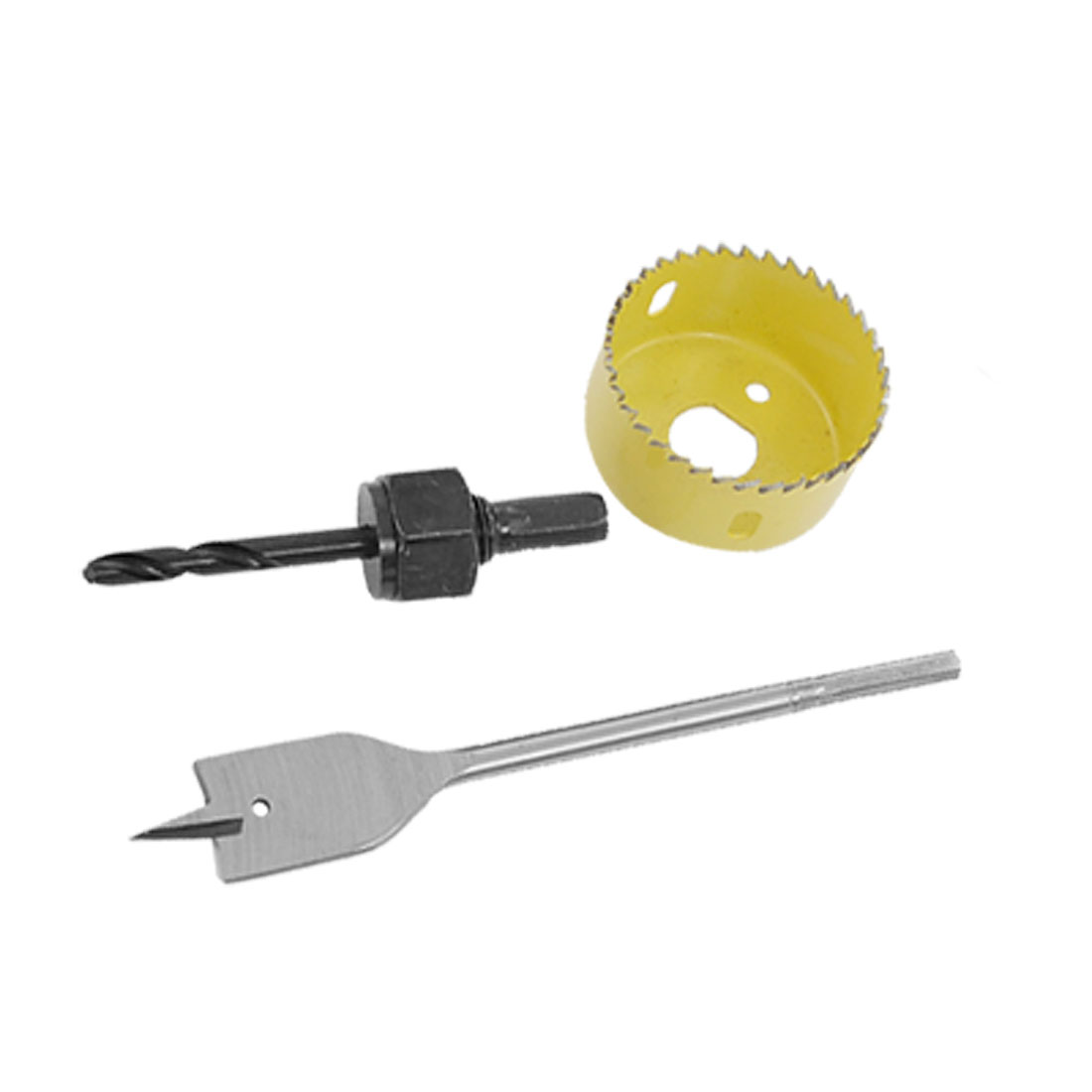 Lock Installation Kit Hole Saw Spade Bit Tools for Wood Door