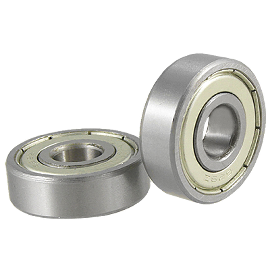 2 Pcs 629Z Mini Single Shielded Deep Groove Stainless Steel Ball Bearings