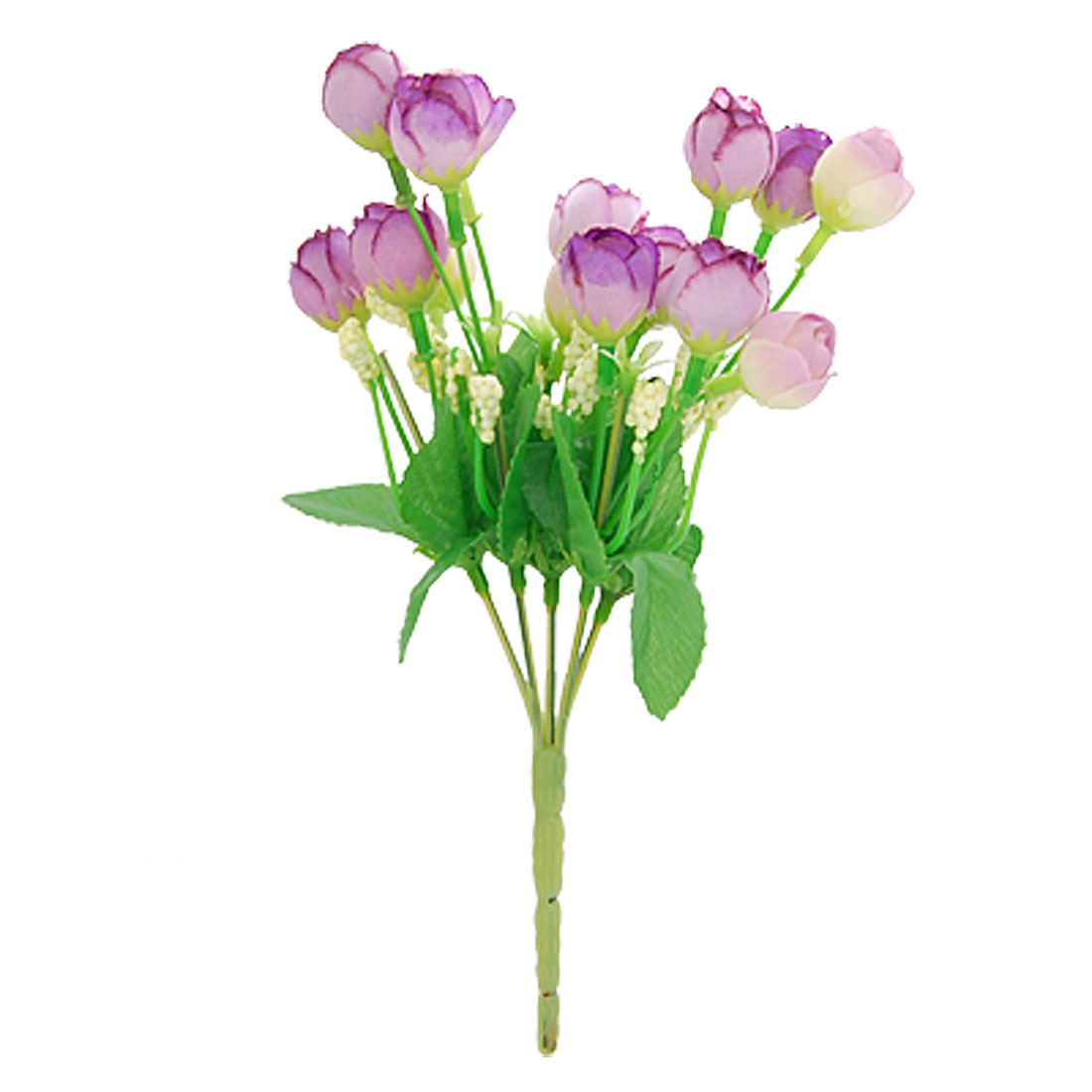 """8"""" Length Artificial Purple Flower Bouquet Office Home Decor"""