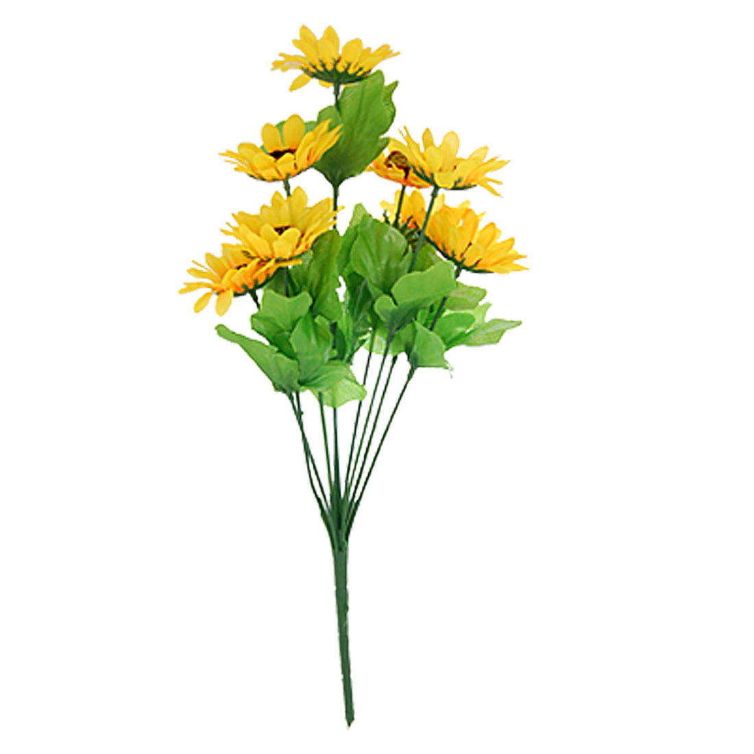 Artificial Yellow Sunflower Bouquet Office Home Decor