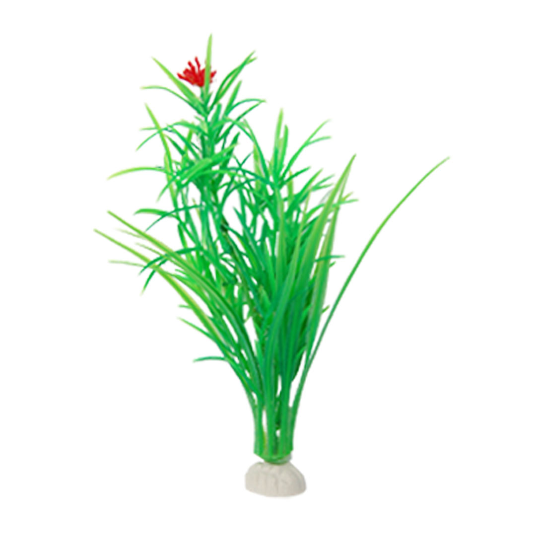 Fish Tank Aquarium Green Plastic Aquatic Plant Ornament 3 Pcs