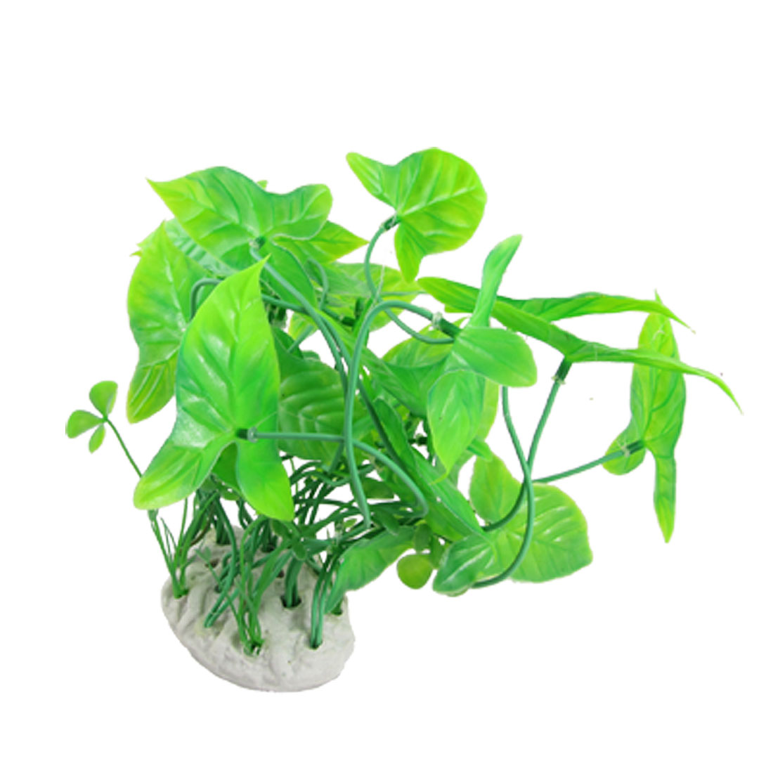 Aquarium Fish Tank Green Decorative Plastic Plant Grass