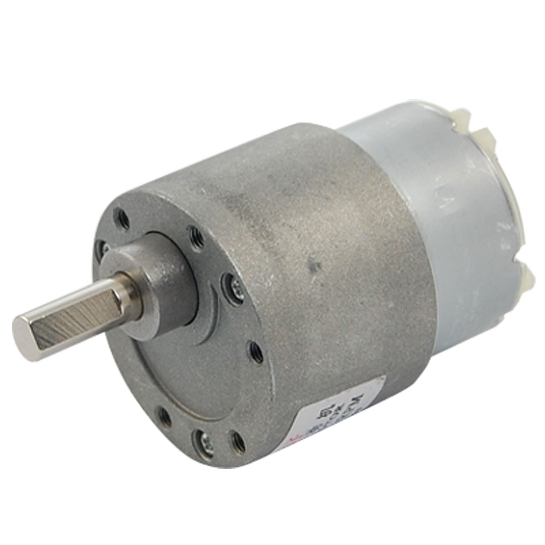 12V DC 0.07A 20RPM Torque Gear Box Electric Motor 37mm