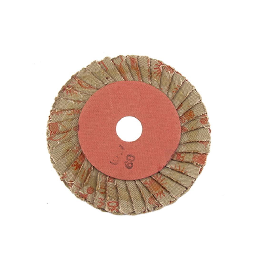 "60# Grit 4"" Outer Dia Flap Abrasive Wheel Sanding Disc"