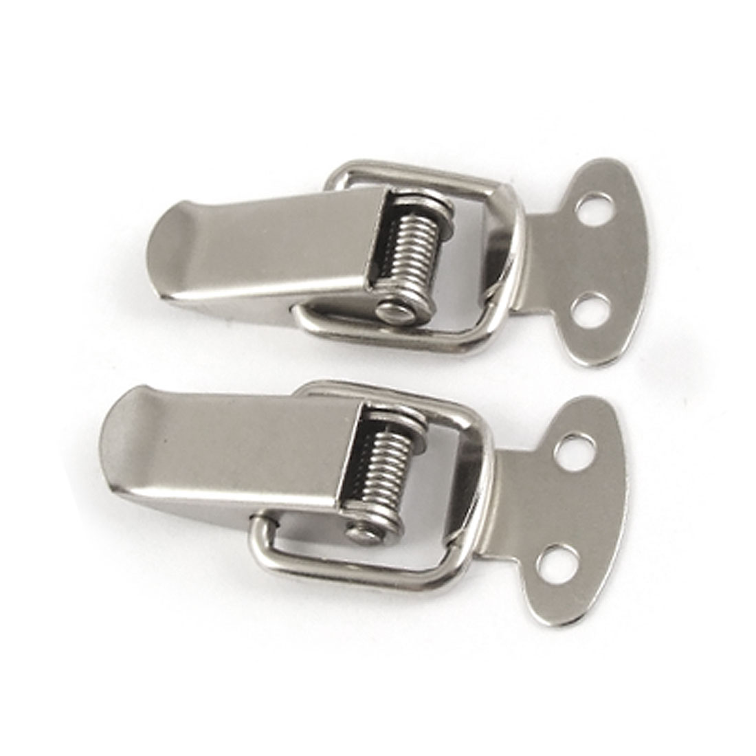Silver Tone Stainless Flap Design Hasp Connector