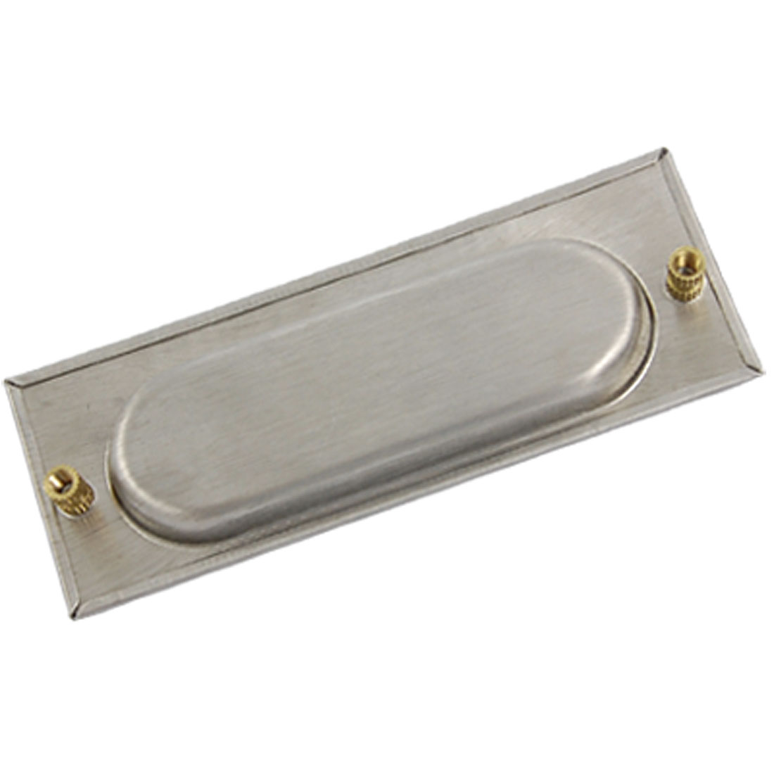 Sliding Door Cabinet Drawer Handle Rectangular Recessed Flush Pull