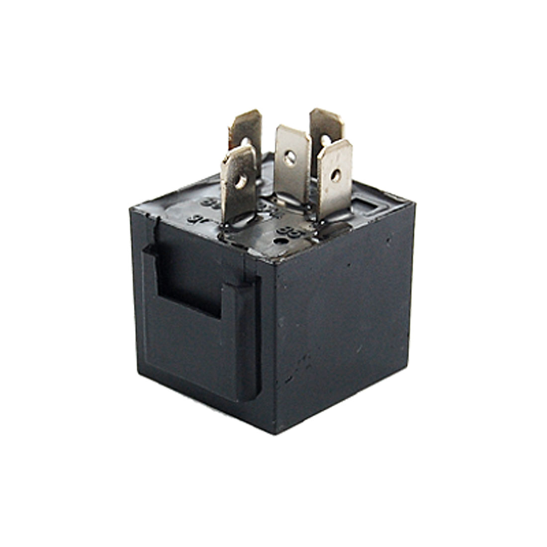 Vehicle Car Security Power Relay 12V DC 80A 5 Pin Black