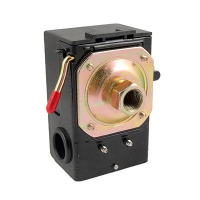 85-115PSI 1-Port Air Compressor Pump Adjustable Pressure Switch Control Valve