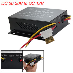 15A DC 20-30V to 12V Auto Car Power Supply Transformer Converter