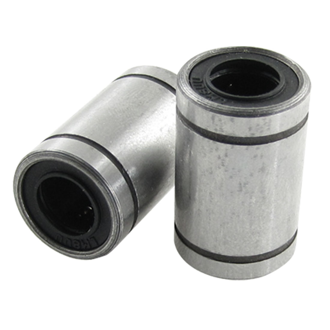 2 Pcs LM16 16 x 28 x 37mm Linear Motion Ball Bearings