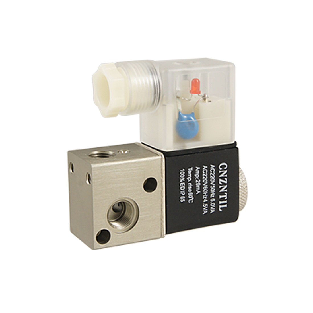 Direct Action Pneumatic Electromagnetic Solenoid Valve AC 220V