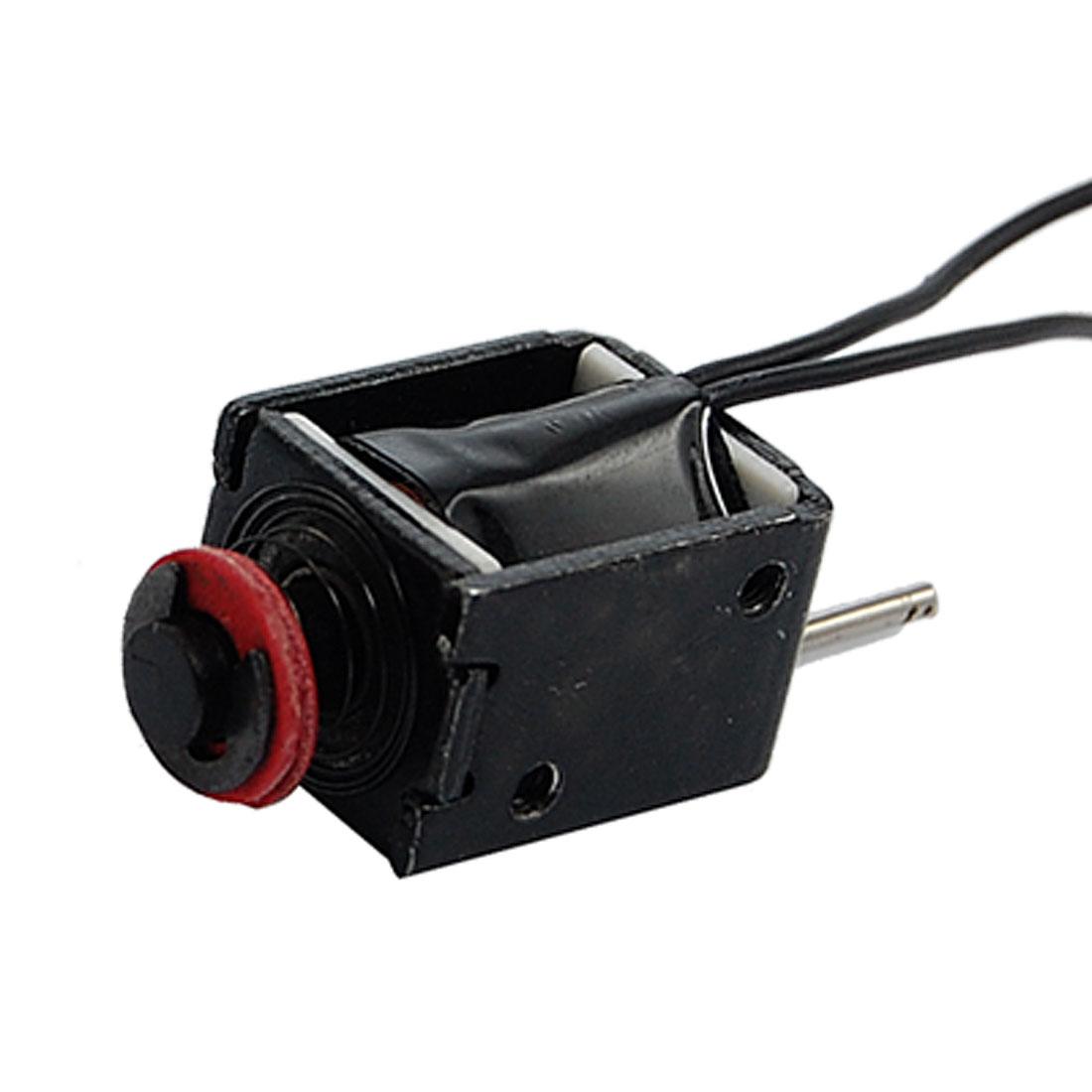 DC 24V 8.22W 0.34A Push Type 5mm Stroke Solenoid Electromagnet Coil