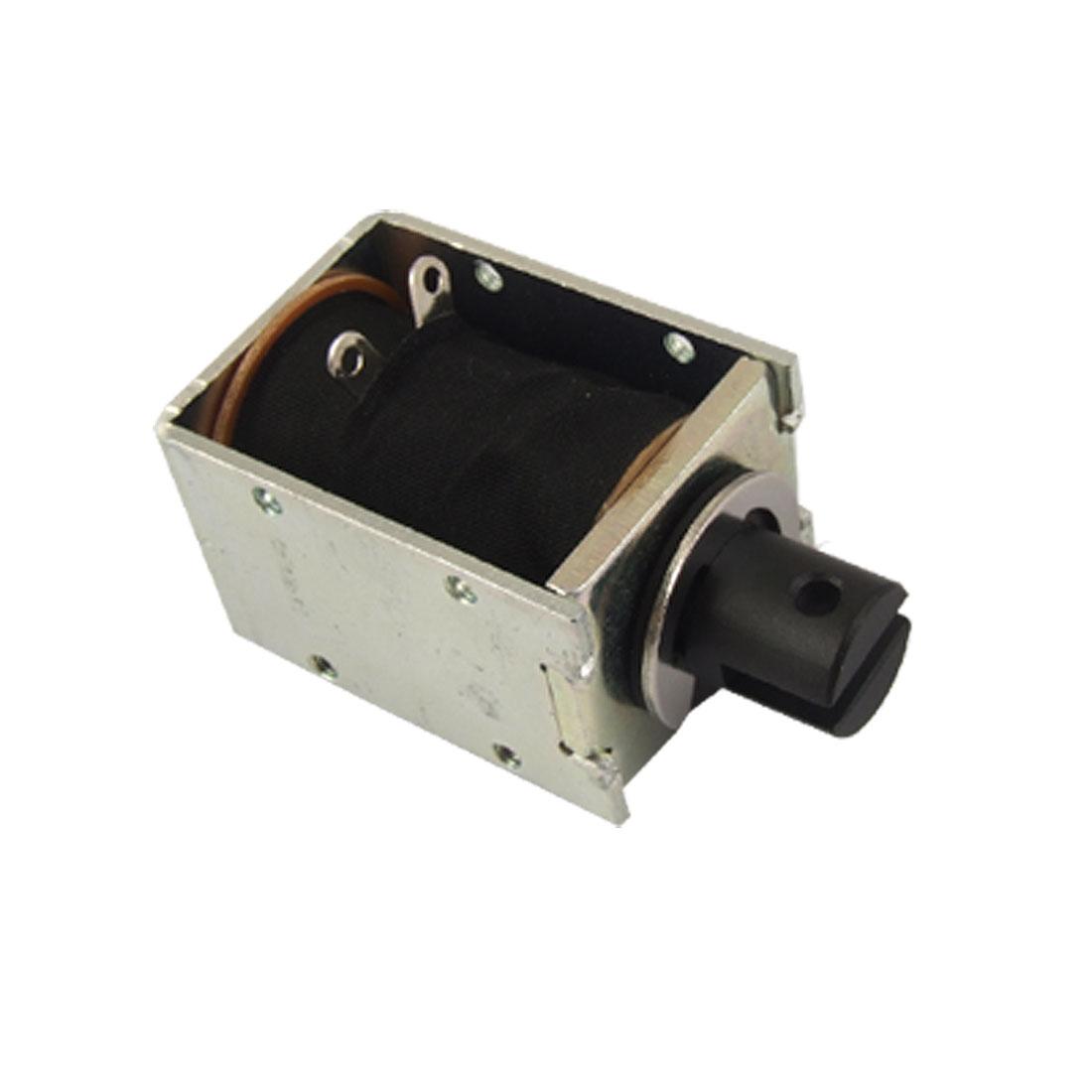 Linear Motion Open Frame Pull Type Solenoid Electromagnet DC 12V