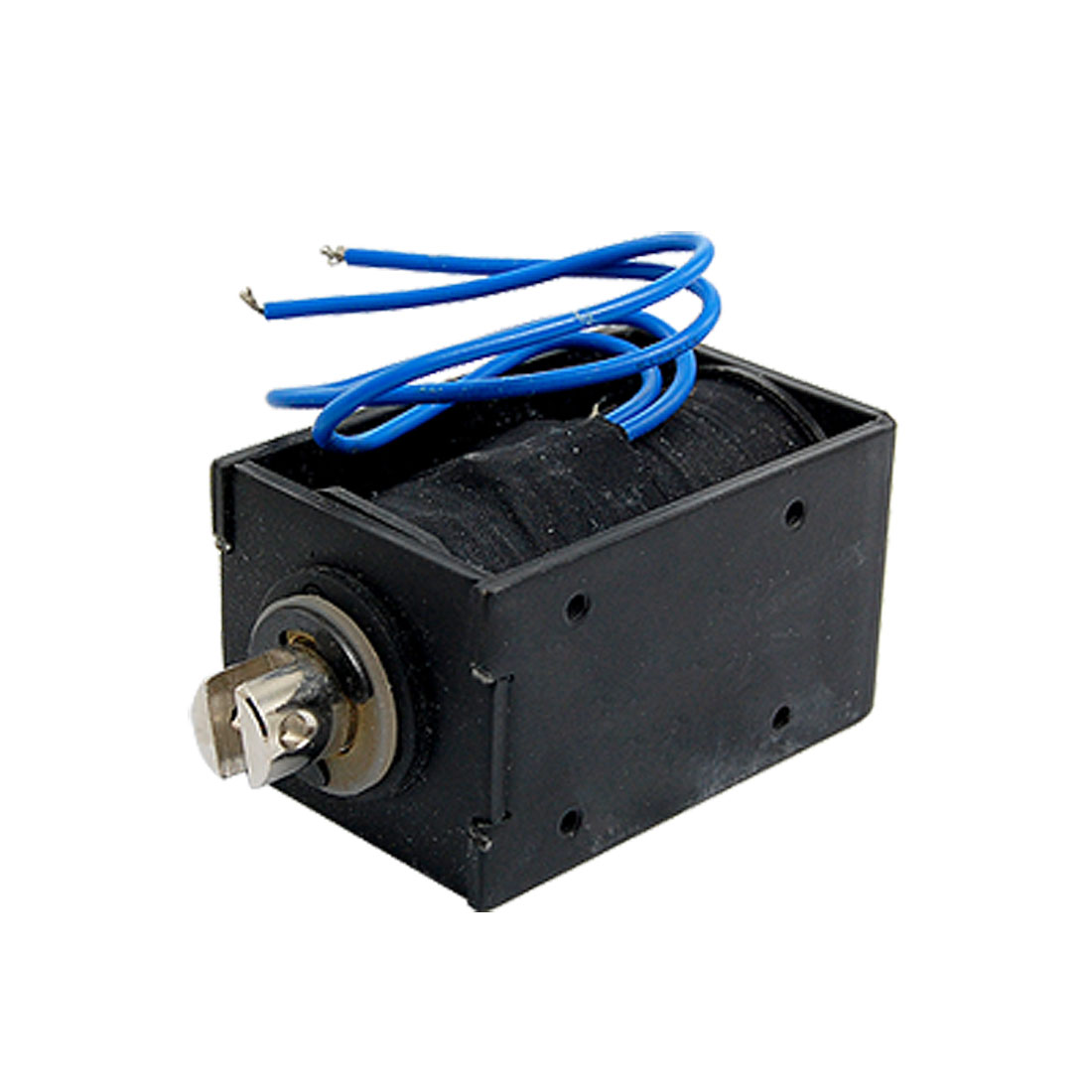 Pull Type Open Frame Linear Motion Solenoid DC 220V 0.69A 152W