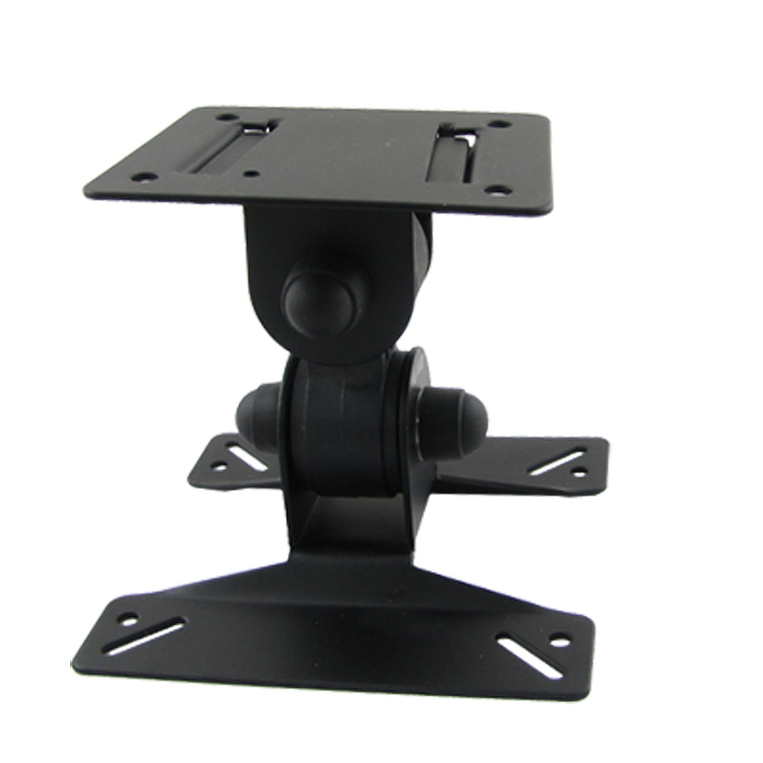 "Black Metal Wall Mount Bracket for 14""-24"" LCD Monitor"