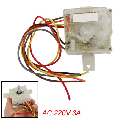 AC 220V 15 Minutes Range Washing Machine Timer Switch