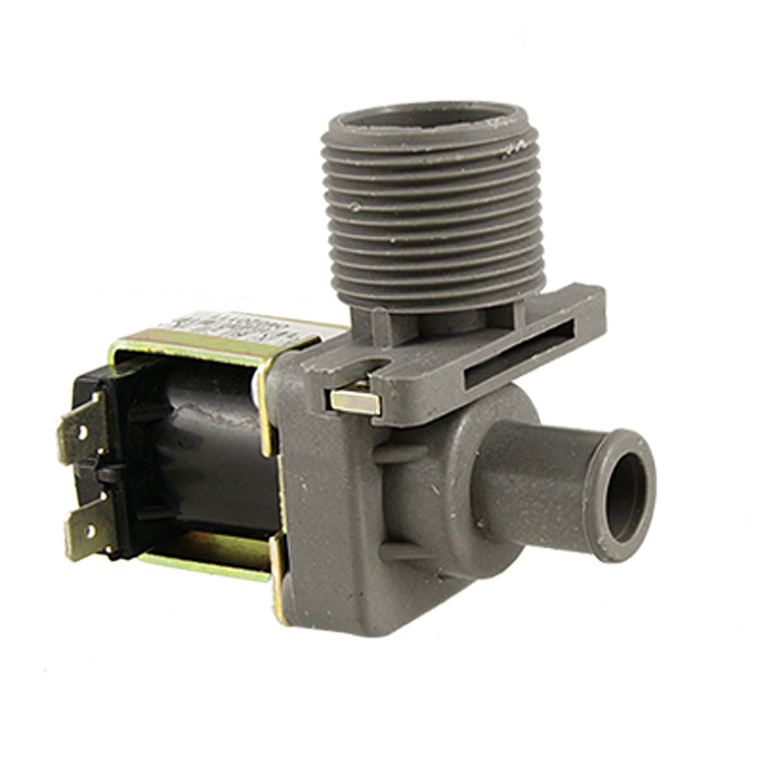 Clothes Washing Machine 26mm Thread Water Inlet Solenoid Valve AC 220V