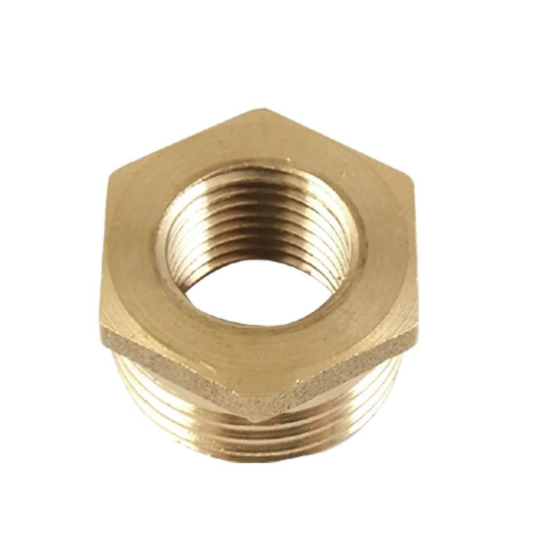 11.9 x 20.5mm Hex Brass Reducing Bushing Pipe Fitting