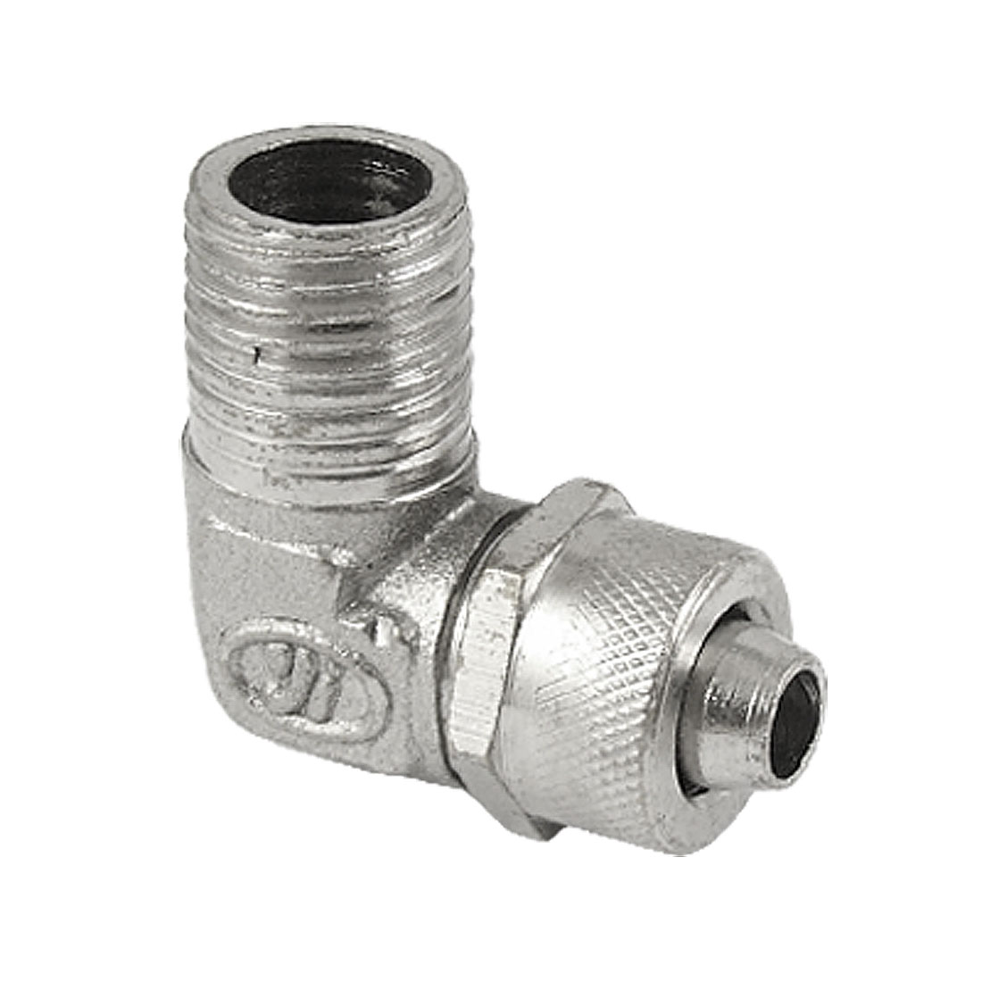 Right Angle 12.5mm Thread Screw Hex Tubing Fitting