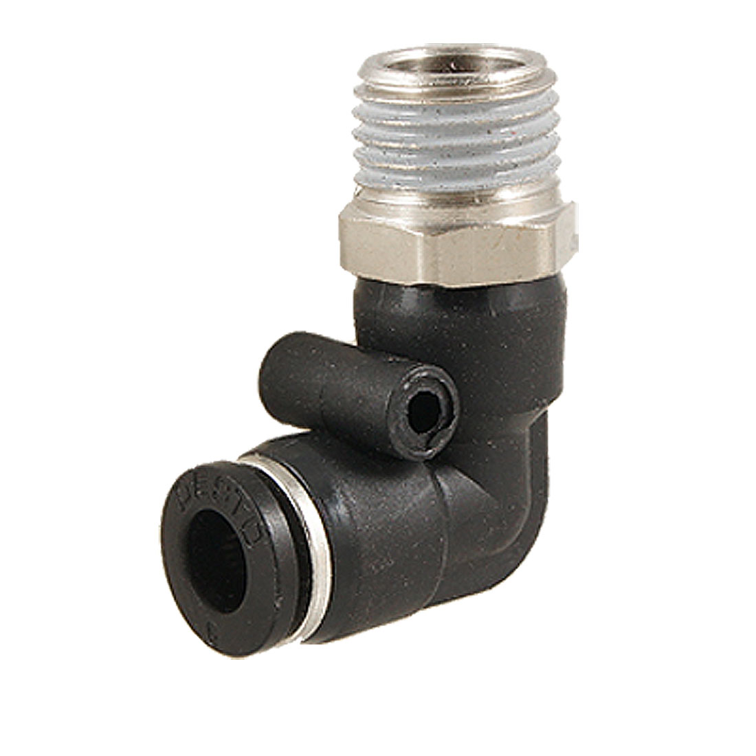 "6mm Push In One Touch Connector 1/2"" Thread Pneumatic Quick Fittings"