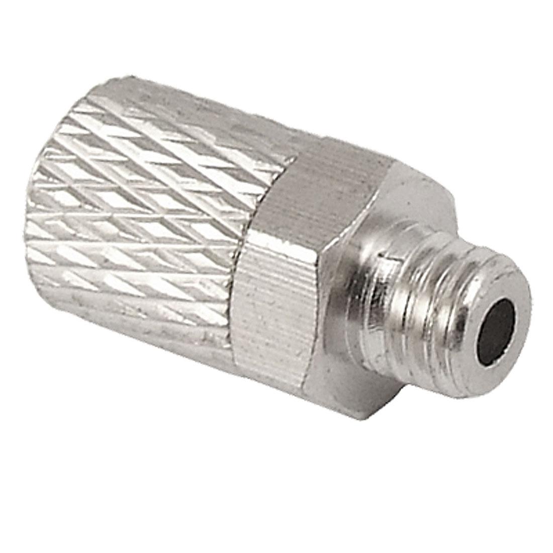 5mm Male Thread Quick Screw Tube Mini Straight Fitting
