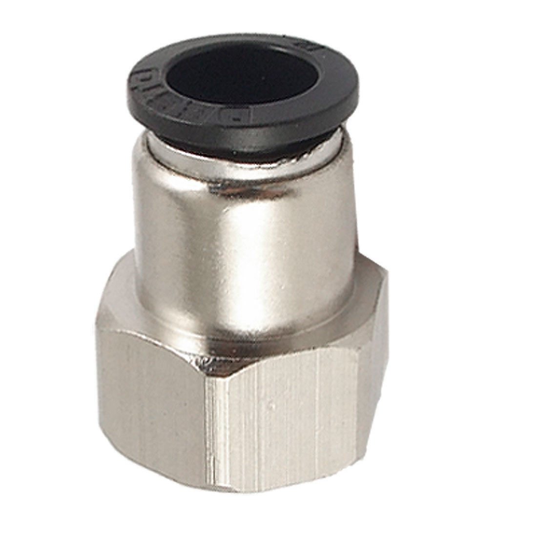 12mm OD Tube to 18mm F Thread Full Port Quick Coupling Fitting