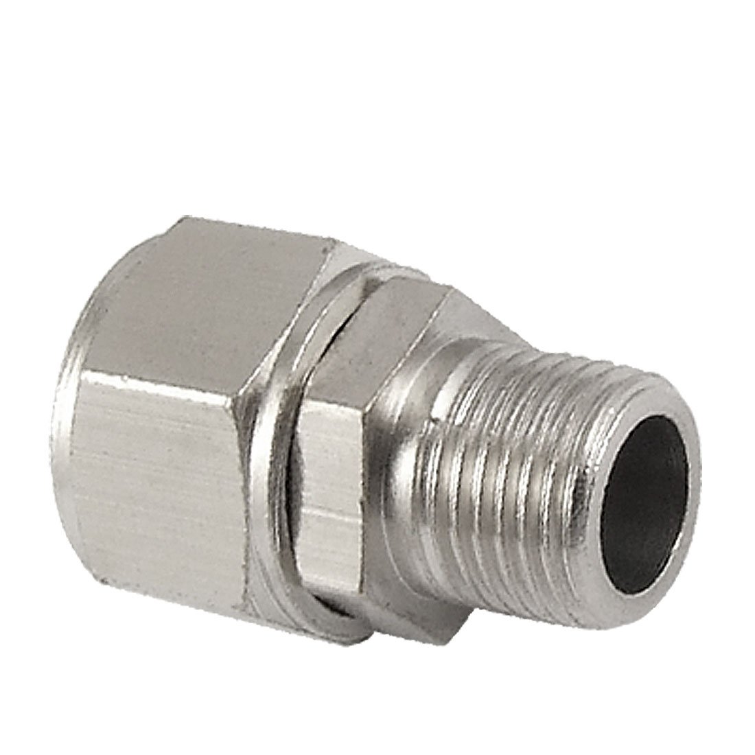 Pneumatic Air Piping Metal Straight 9.5mm Thread Fitting