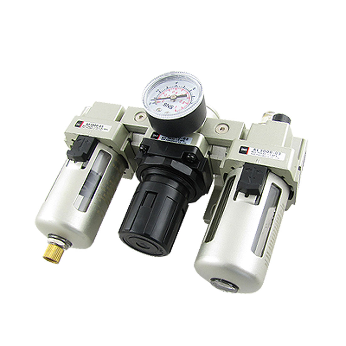 AC3000-03 Pneumatic Air Filter Regulator Lubricator