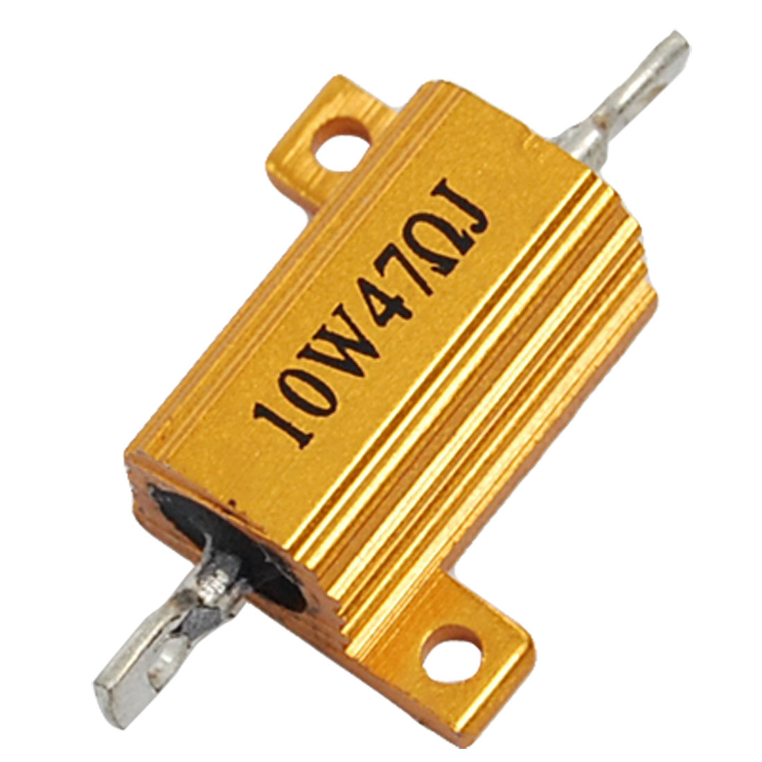 Gold Tone 10W 47 Ohm 5% Aluminum Housed Wire Wound Resistor