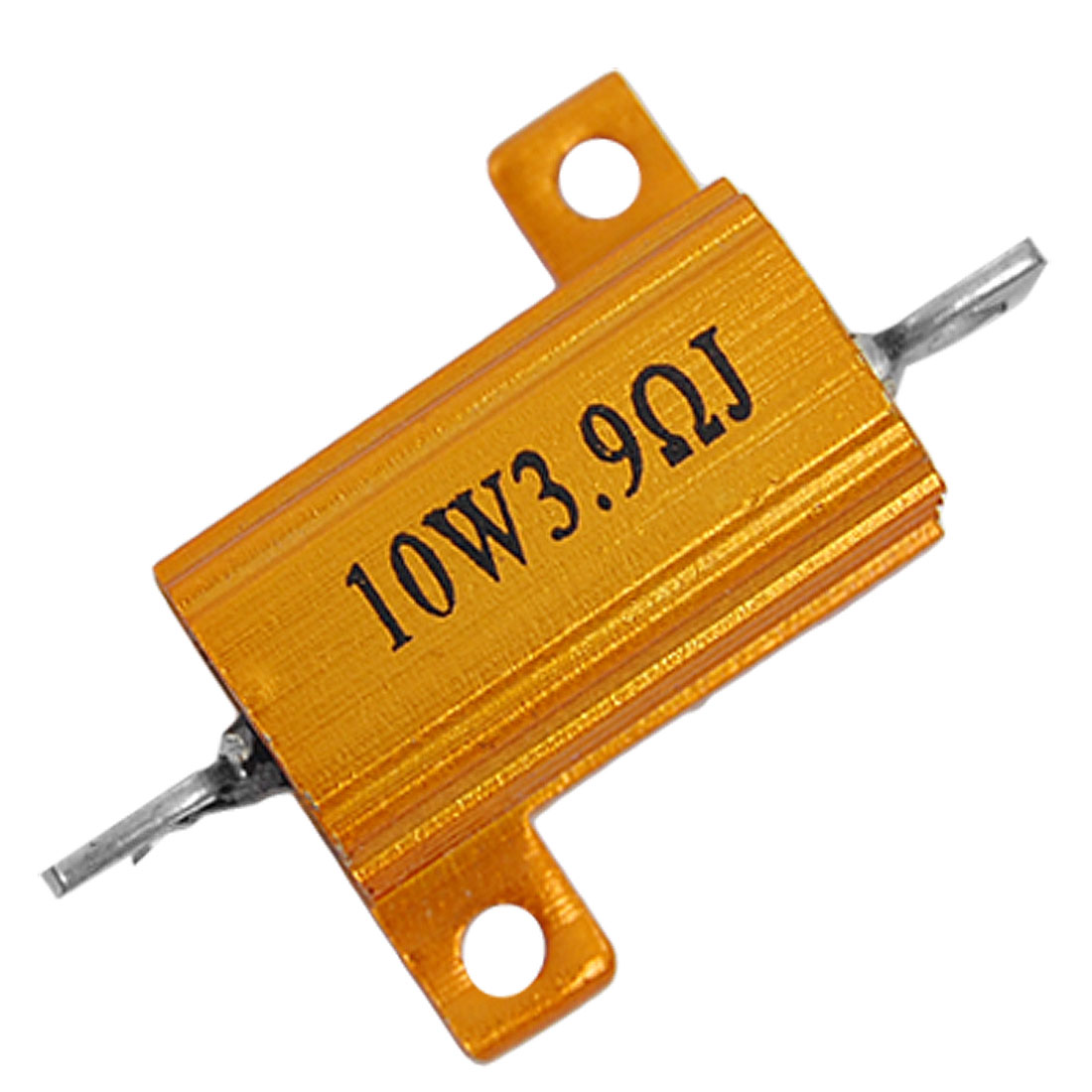 Screw Tabs 5% Resistance Tolerance 3.9 Ohm 10W Aluminum Resistor