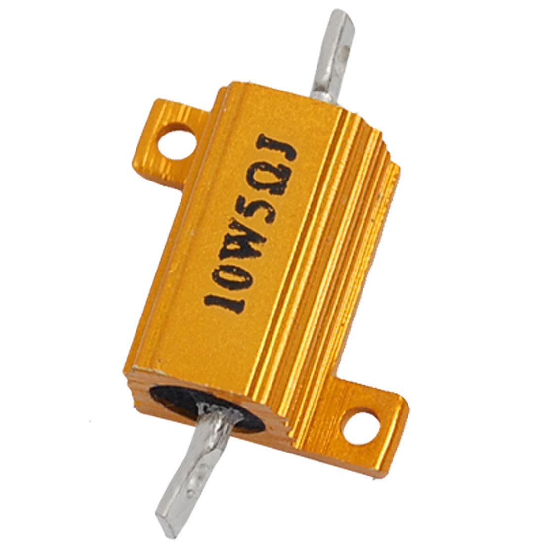 Screw Tabs Wirewound Aluminum Casing Resistor 10W 5 Ohm 5%
