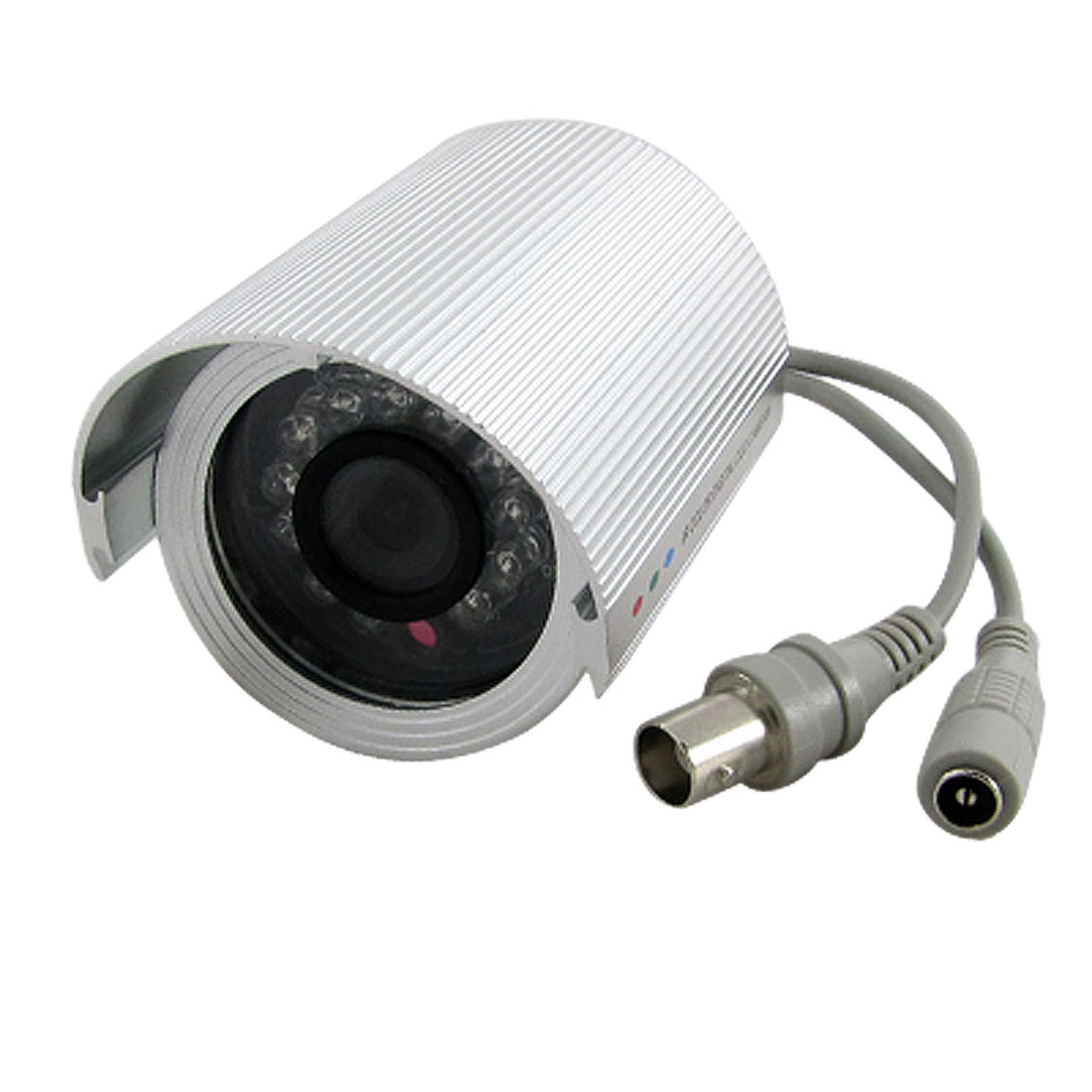 3.6mm Lens 1/3 Inch CCD 12 LEDs PAL BNC Connector CCTV Infared Camera