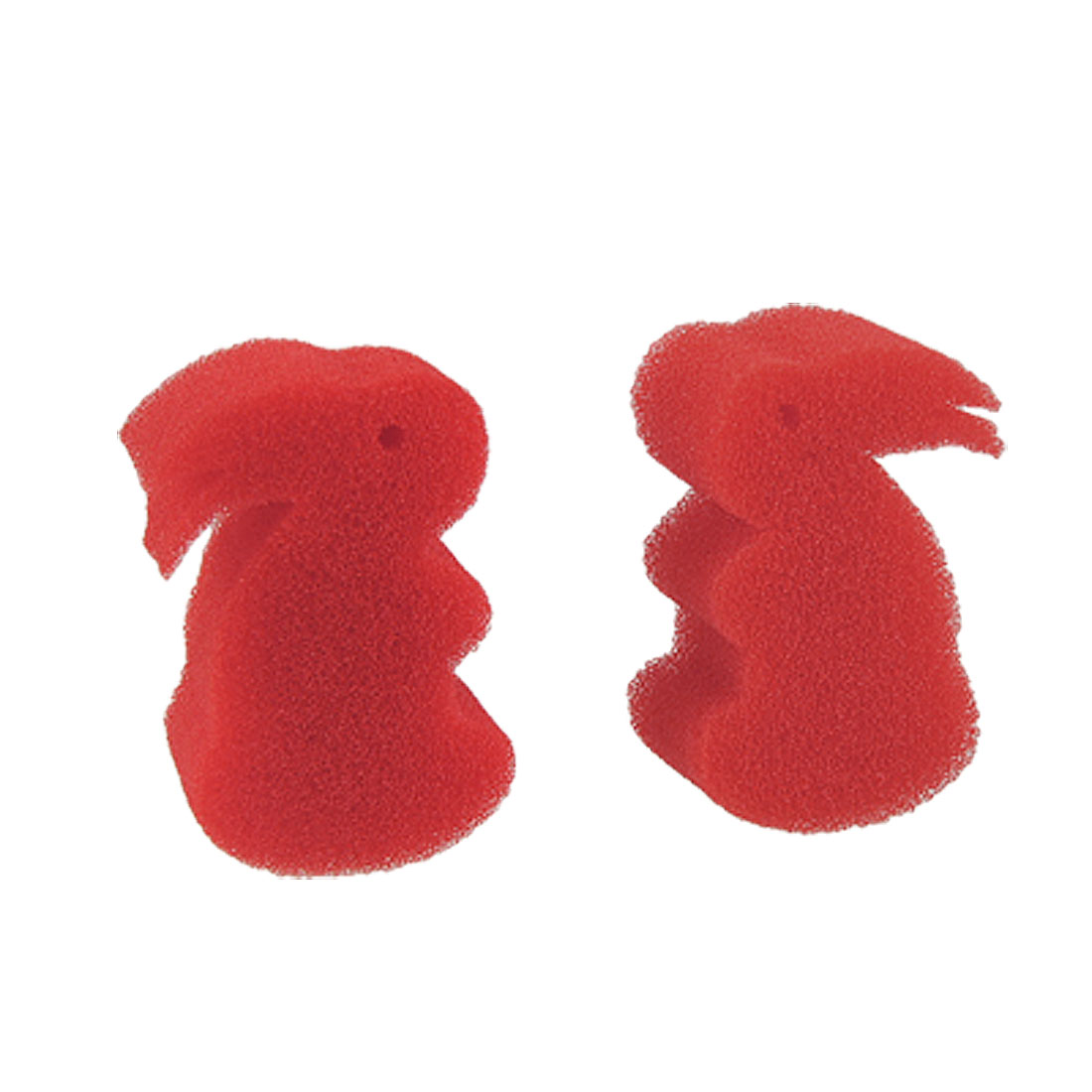 2 Packs 2 Red Sponge Lapin Hare Missing Rabbit Magic Conjuring Trick Toy