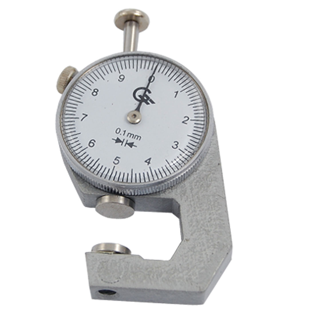 0 to 10mm Round Dial Thickness Gauge Gage Measurement Tool