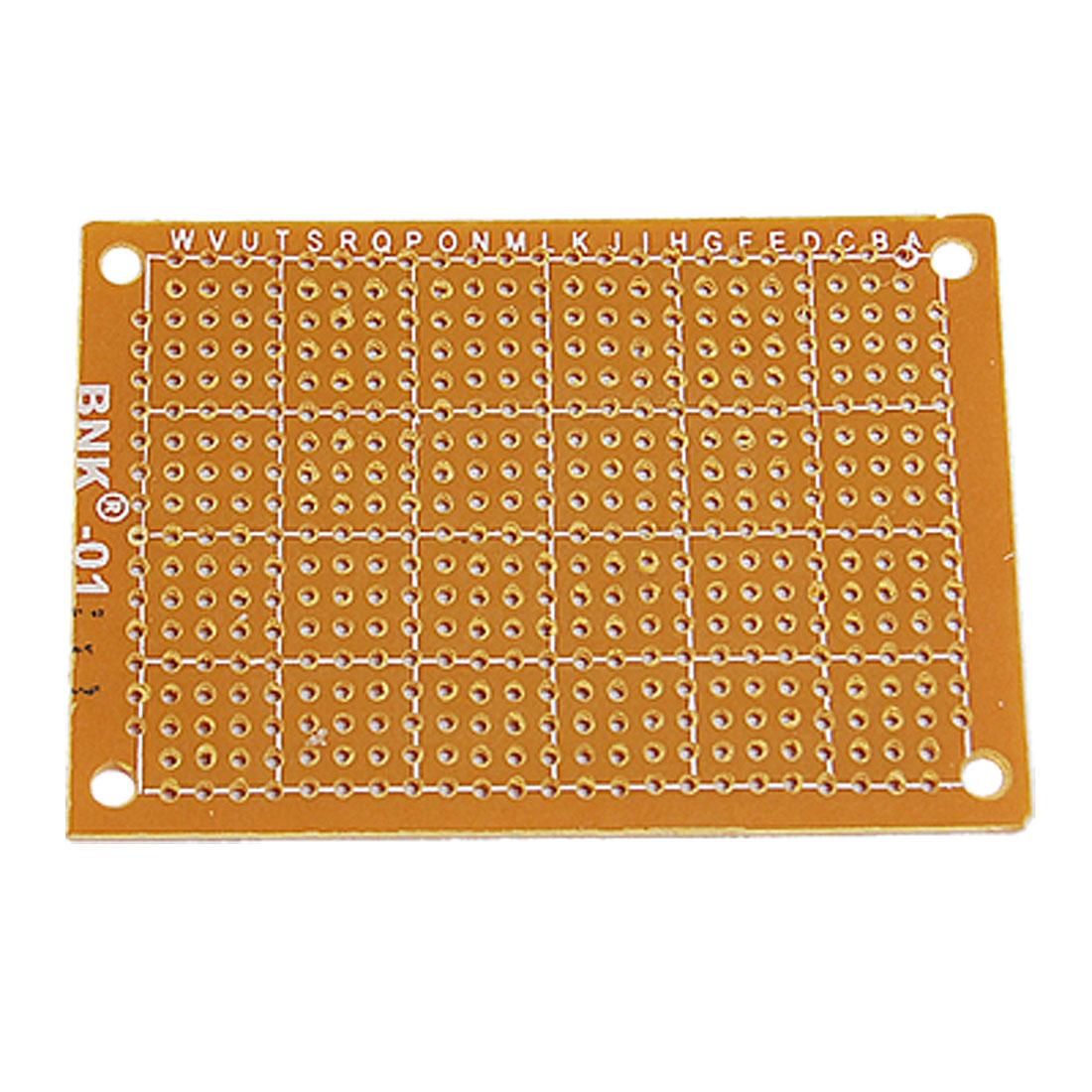 5x7.1cm Panel Universal Single Side Copper PCB Board